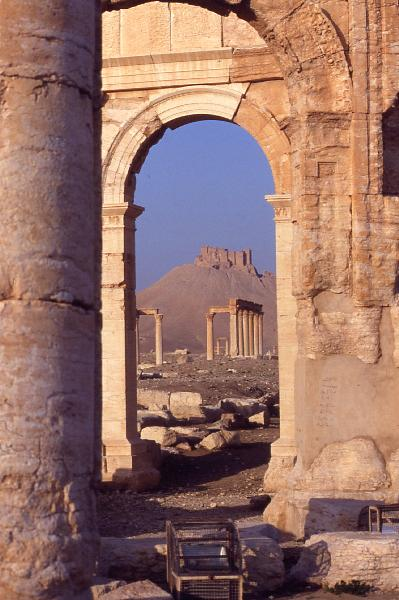 Palmyra am Morgen